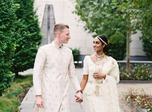 Family was the focus of physicians Anodika and Jerald's wedding. With paying tribute to their roots being top of mind, the pair planned a day-long cel
