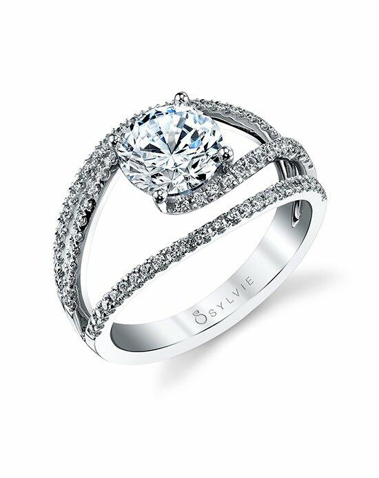 Sylvie Collection S1194 Engagement Ring photo