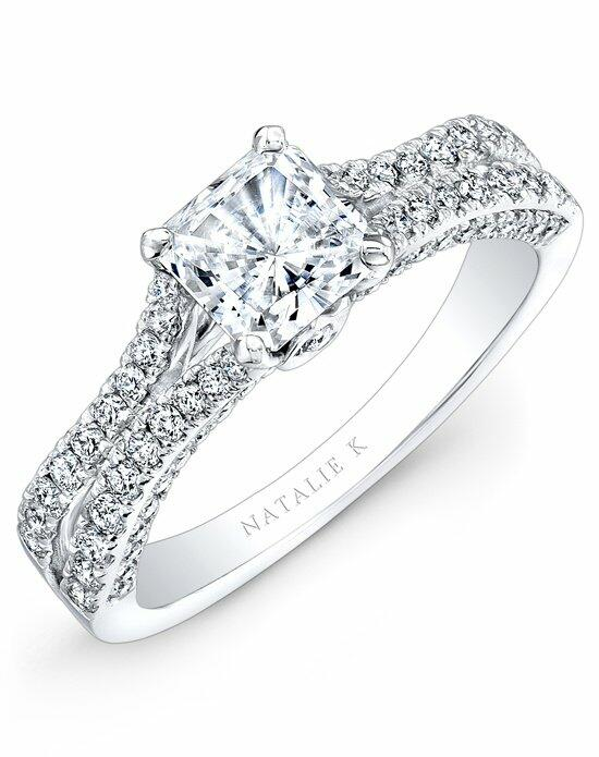 Natalie K Princesse Collection - NK28057-18W Engagement Ring photo