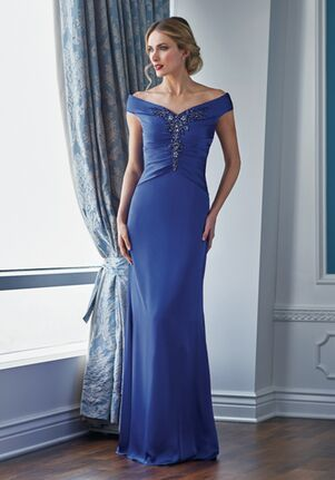 Jade Couture Mother of the Bride by Jasmine K218051 Blue Mother Of The Bride Dress