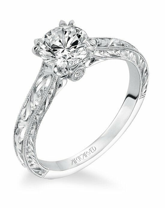 ArtCarved 31-V556ERW-E Engagement Ring photo