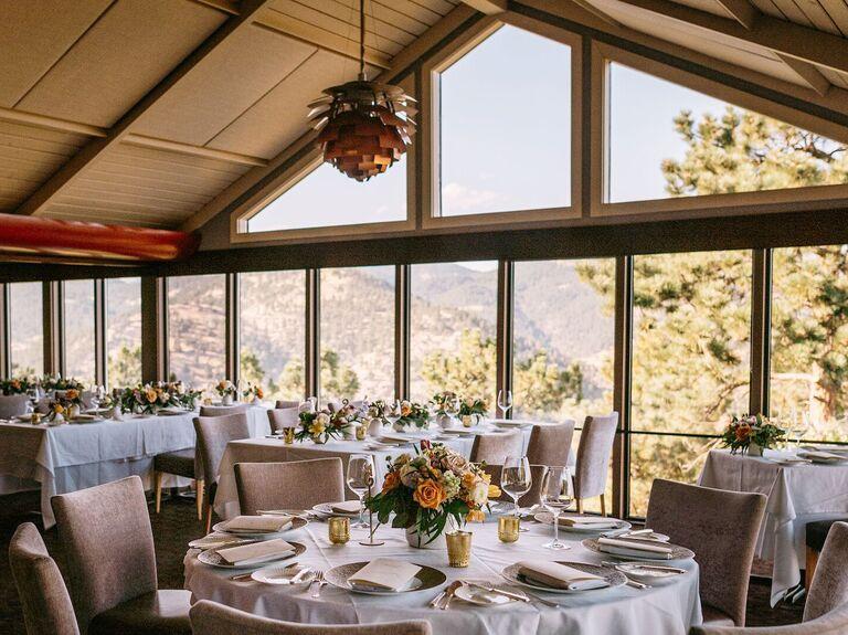 Wedding venue in Boulder, Colorado.
