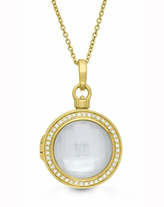 With You Lockets Michael Necklace (Gold) Wedding  photo