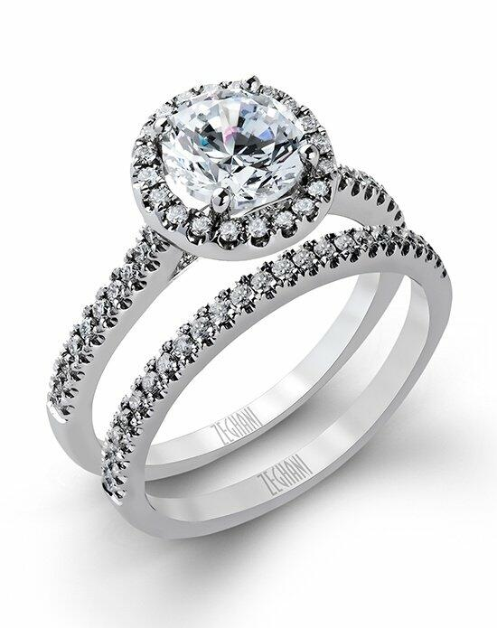 Zeghani ZR498 Engagement Ring photo