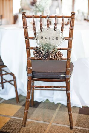 DIY Wooden Chair Sign