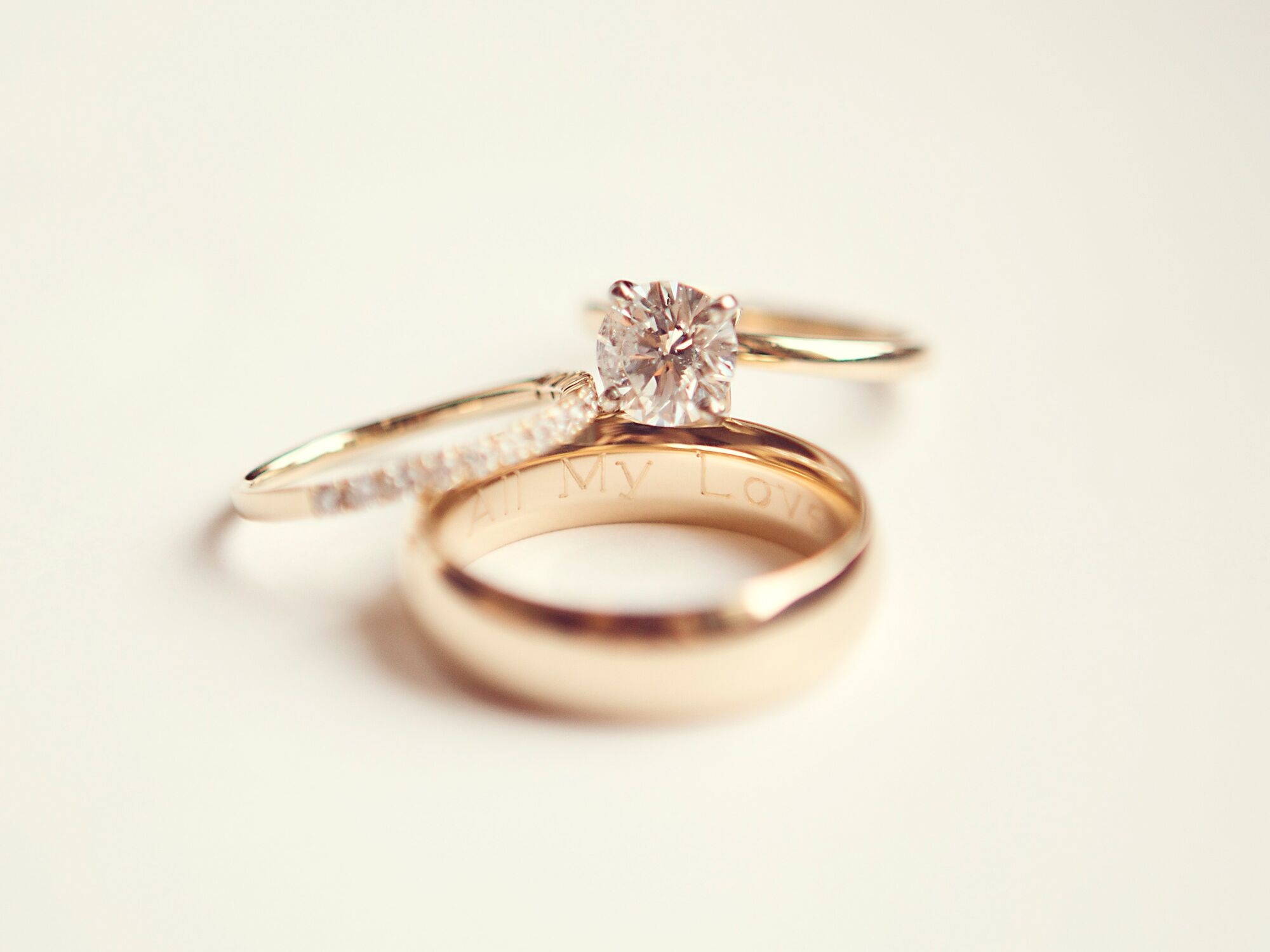 How To Get Your Wedding Rings Engraved 101 The Knot