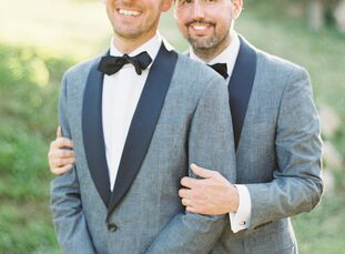 Eric Scroggins (36 and works in education reform) and Ryan Rawlings (36 and works in finance) quickly settled on the site of their September nuptials: