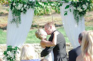 First Kiss at Carmel Valley Ranch