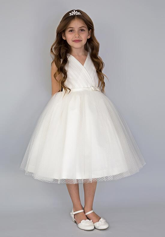Us Angels Beautiful Color Princess Ballerina-681_Ivory  Flower Girl Dress photo