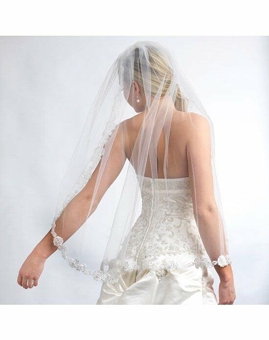 USABride 1 Layer, Angelic French Lace Veil VB-5016 Wedding Veils photo