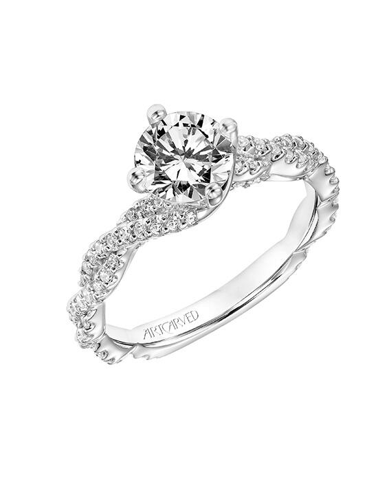 ArtCarved 31-V772ERW-E.00 Engagement Ring photo
