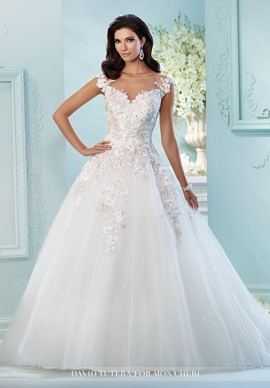 David Tutera for Mon Cheri 216238 Jay Wedding Dress photo