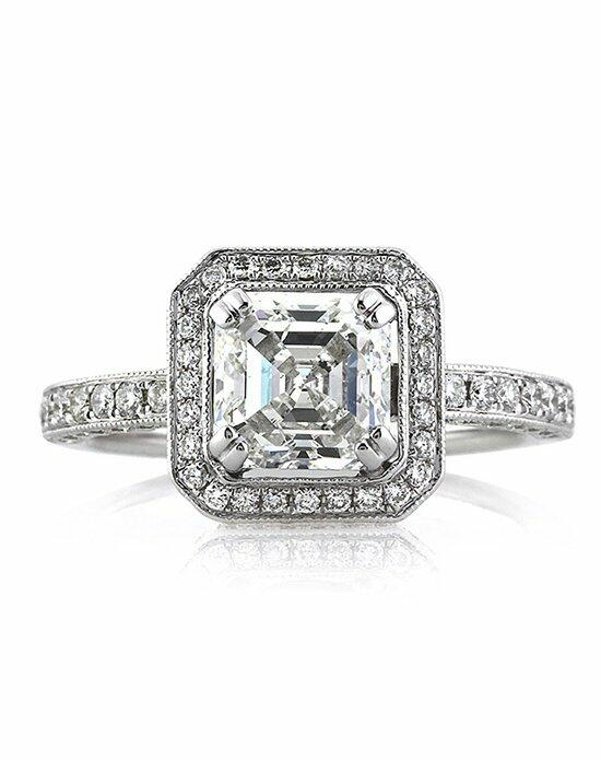Mark Broumand 2.60ct Asscher Cut Diamond Engagement Ring Engagement Ring photo