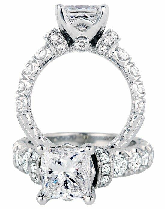 Jack Kelege KGR 1010P Engagement Ring photo