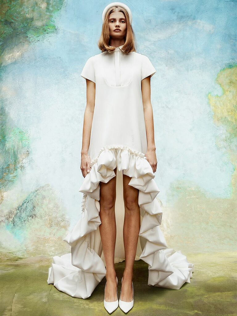 Vintage High-Low Wedding Dresses
