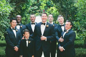 Traditional Black Tuxedos