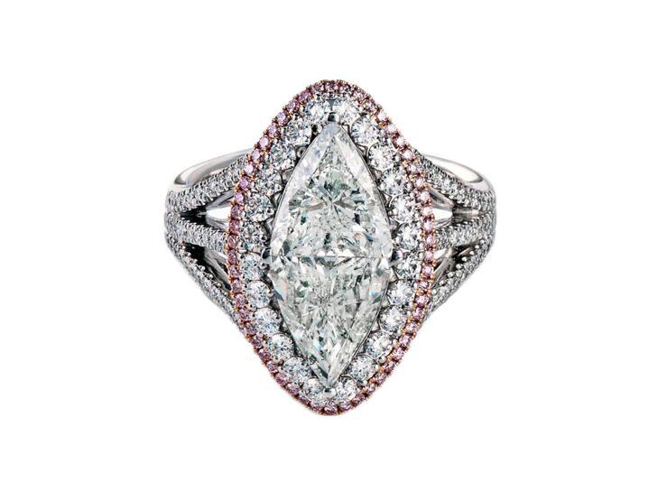 simon g marquise engagement ring