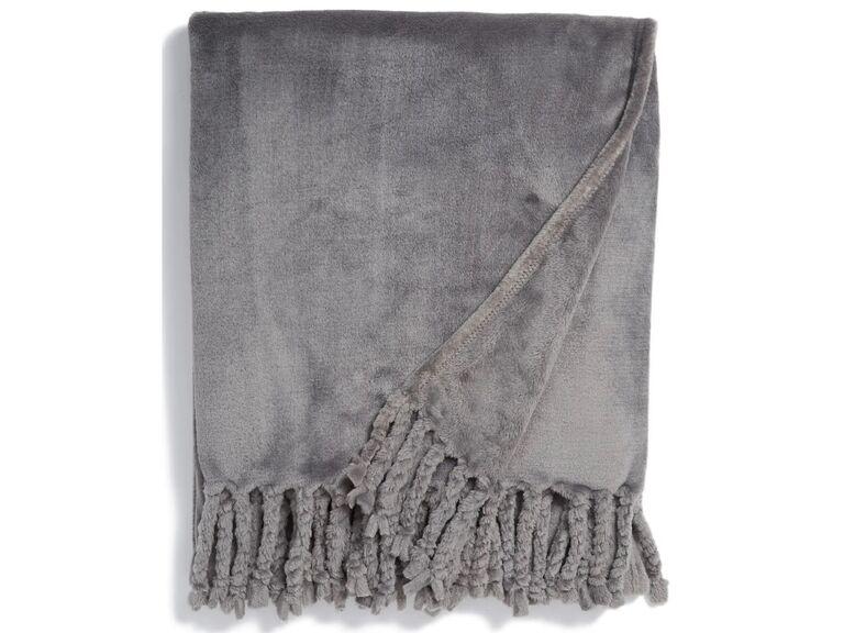 Soft throw blanket gift for boyfriend/girlfriend's parents