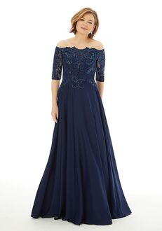 MGNY 72220 Pink,Blue Mother Of The Bride Dress