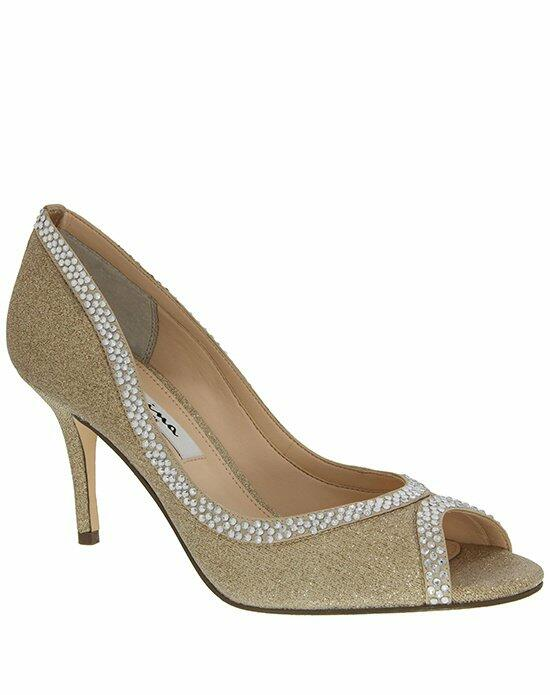 Nina Bridal Viviana_Gold Wedding Shoes photo