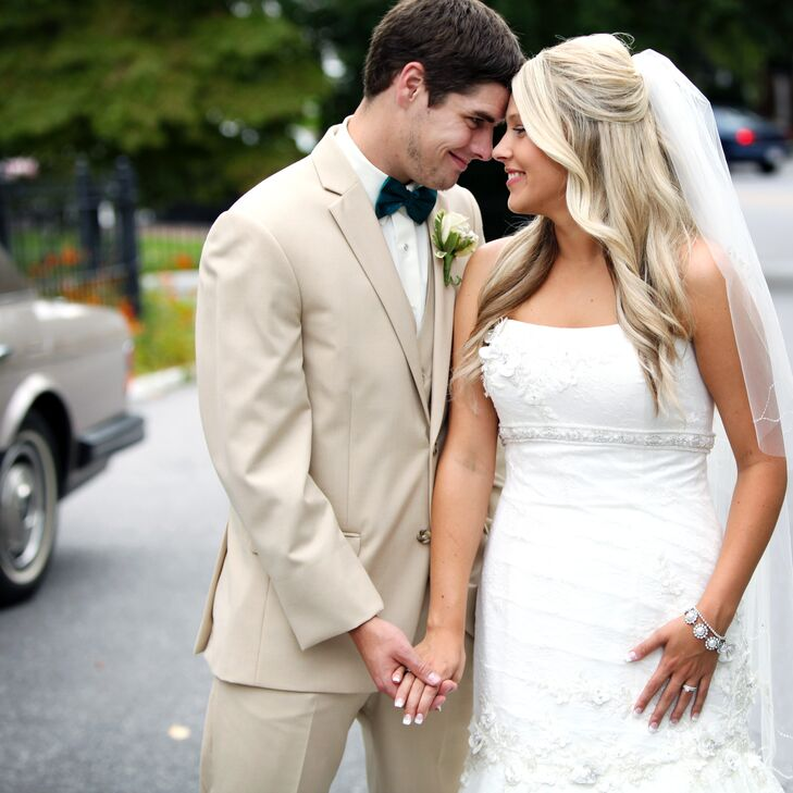 Wedding Portrait in Bristol, Virginia
