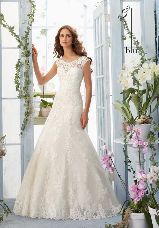 Blu by Madeline Gardner 5410 Wedding Dress photo