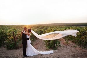 Romantic Ranch Wedding in Bakersfield