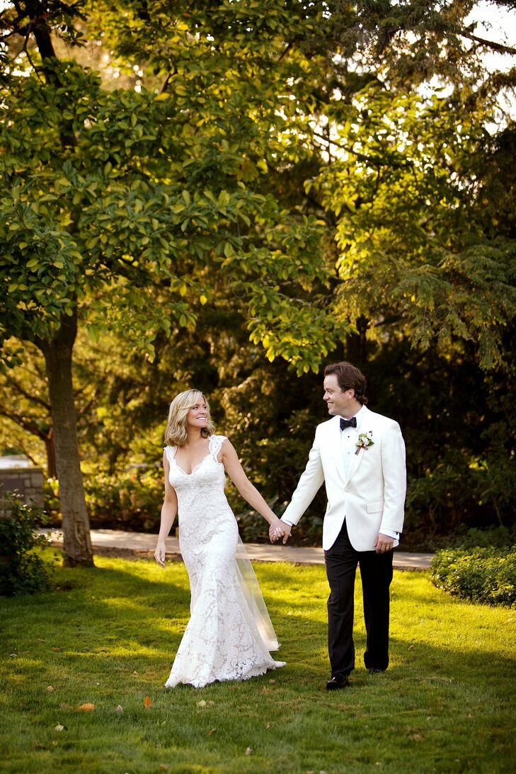 Will had one request for Alex's look: that she look like herself walking down the aisle.