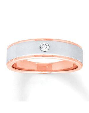Now & Forever 960091003 Rose Gold Wedding Ring
