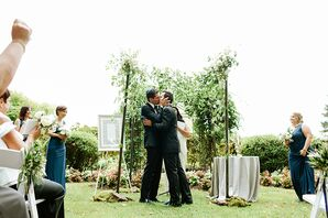 Jewish Ceremony at Crossing Vineyards and Winery