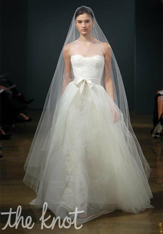 Monique Lhuillier Grace Wedding Dress photo