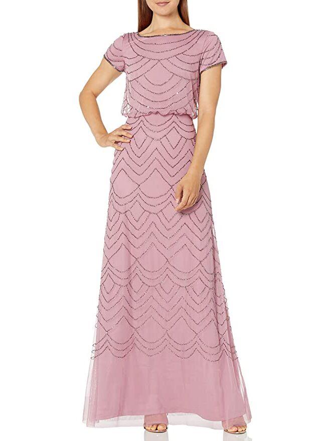 Adrianna Papell blouson dress