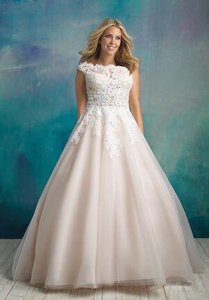 Allure Bridals W419 Ball Gown Wedding Dress