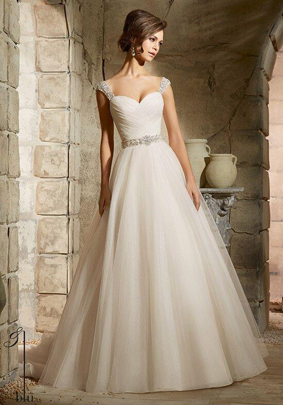 Blu by Madeline Gardner 5375 Wedding Dress photo