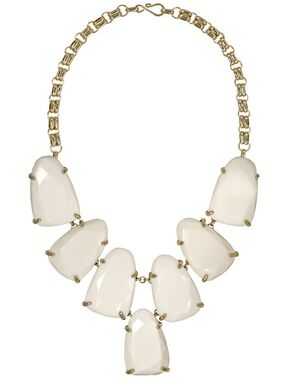 Kendra Scott Harlow Necklace in White Wedding Necklace photo