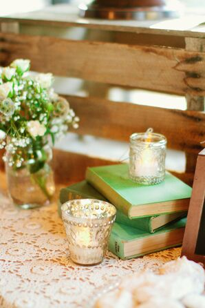 Simple Country Reception Decor