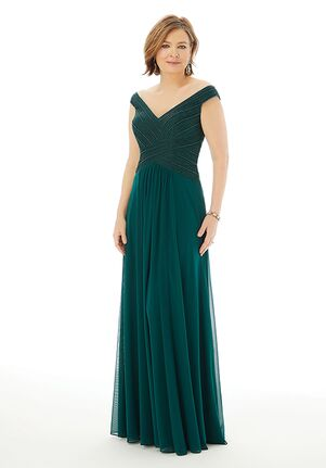 MGNY 72204 Gray,Green Mother Of The Bride Dress