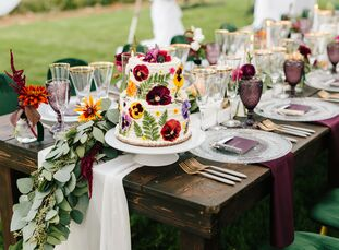 After initially planning to host a mountain wedding with more than one hundred guests, the COVID-19 pandemic forced Lauren and Caleb to shift to a 25-
