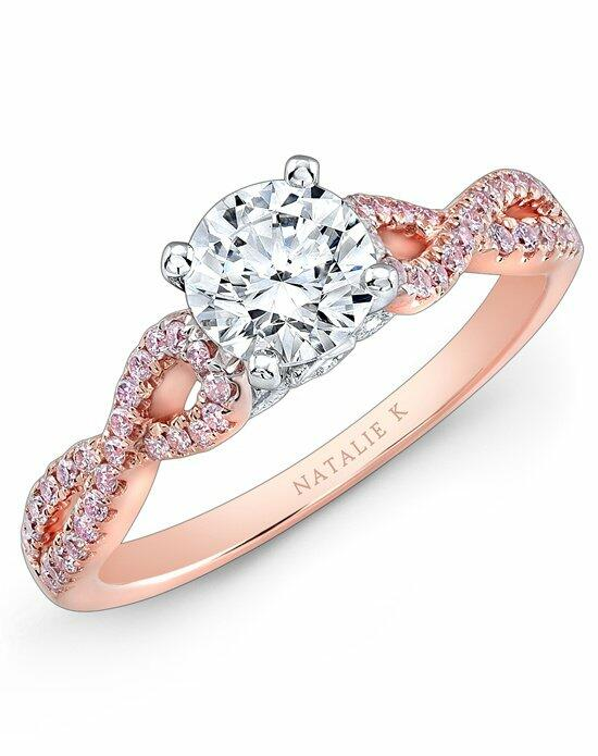 Natalie K Le Rosé Collection - NK28670PK-18WR Engagement Ring photo