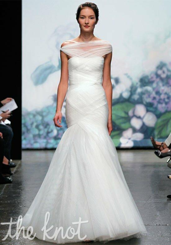Monique Lhuillier Emotion Wedding Dress photo