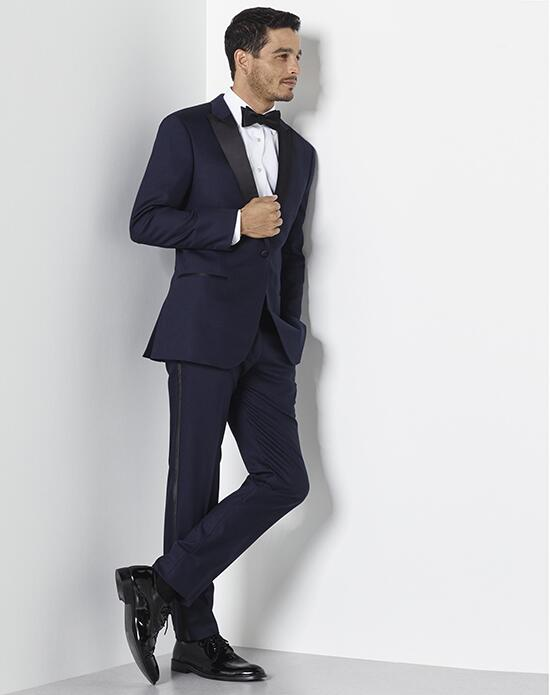 The Black Tux Midnight Blue Tuxedo Wedding Tuxedos + Suit photo