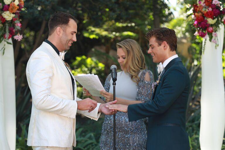 garrett clayton wedding rings