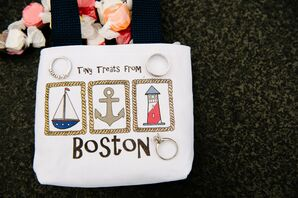 Boston-Themed Welcome Bags