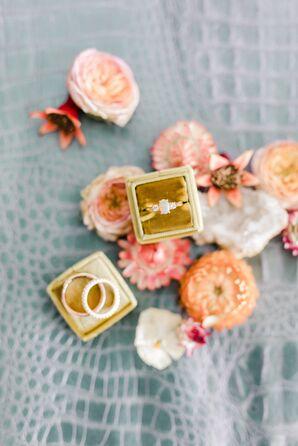 Elegant Opal Engagement Ring
