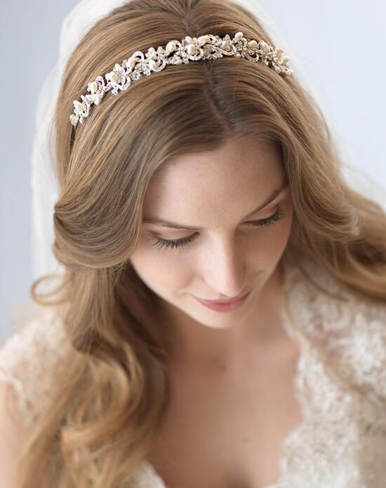 USABride Priscilla Pearl Headband TI-3083 Wedding Headbands photo