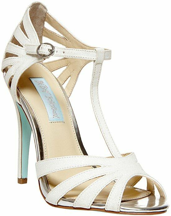 Blue by Betsey Johnson SB-TEE-Ivory Wedding Shoes photo