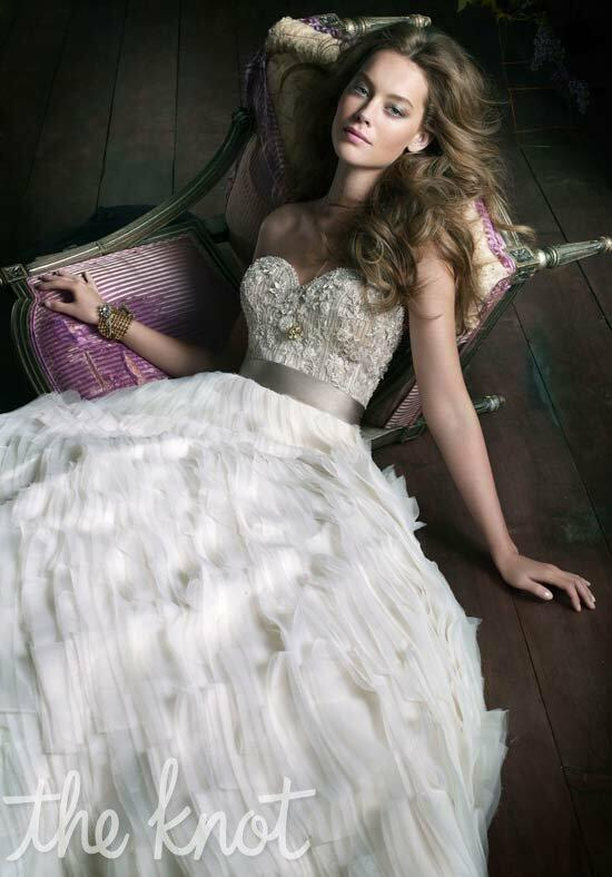 Lazaro 3063 Wedding Dress photo