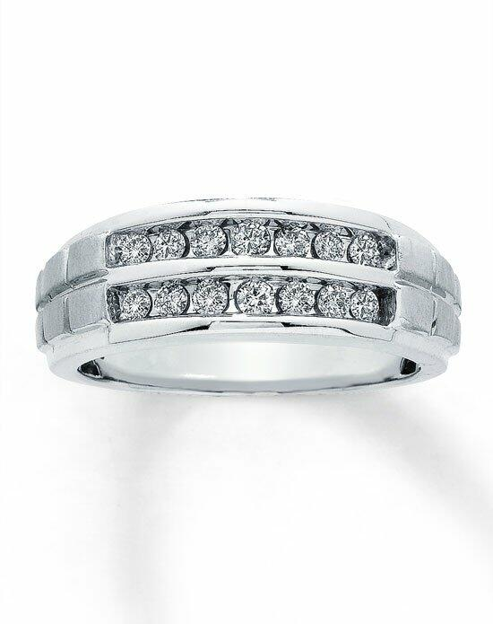 Kay Jewelers 10kw 1/2ct men's diamond ring-31117106 Wedding Ring photo