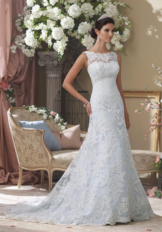 David Tutera for Mon Cheri 113211A  Anita-Marie Wedding Dress photo