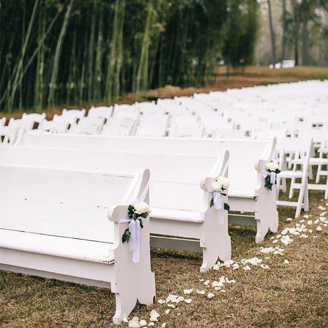 White Ceremony Seating